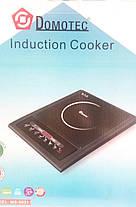 Индукционная настольная электроплита Domotec MS-5831 (2000W) , фото 3