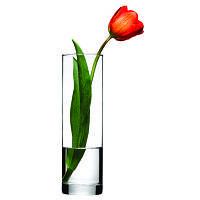 Ваза стеклянная цилиндр Pasabahce Flora 265мм