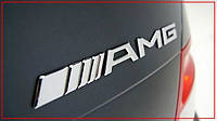 Надпись AMG на Mercedes-Benz