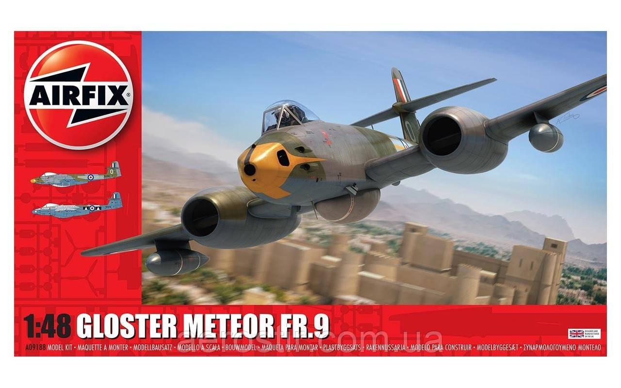 Gloster Meteor FR9 1/48 AIRFIX 09188
