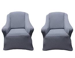 Vip чехлы на диван и 2-кресла AltinKoza серого цвета