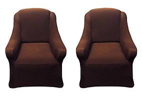 Vip чехлы на диван и 2-кресла AltinKoza цвета шоколад