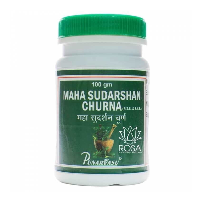 Махасударшан Чурна - при простуде и инфекции (Maha Sudarshan Churna, Punarvasu), 100 грамм
