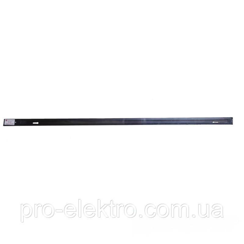 Аксессуары для трековых светильников EH-RT-0003 Рельса черная 1м