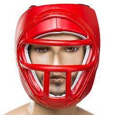 Шлем для единоборств с пластиковой маской PVC EVERLAST EV-5010LR