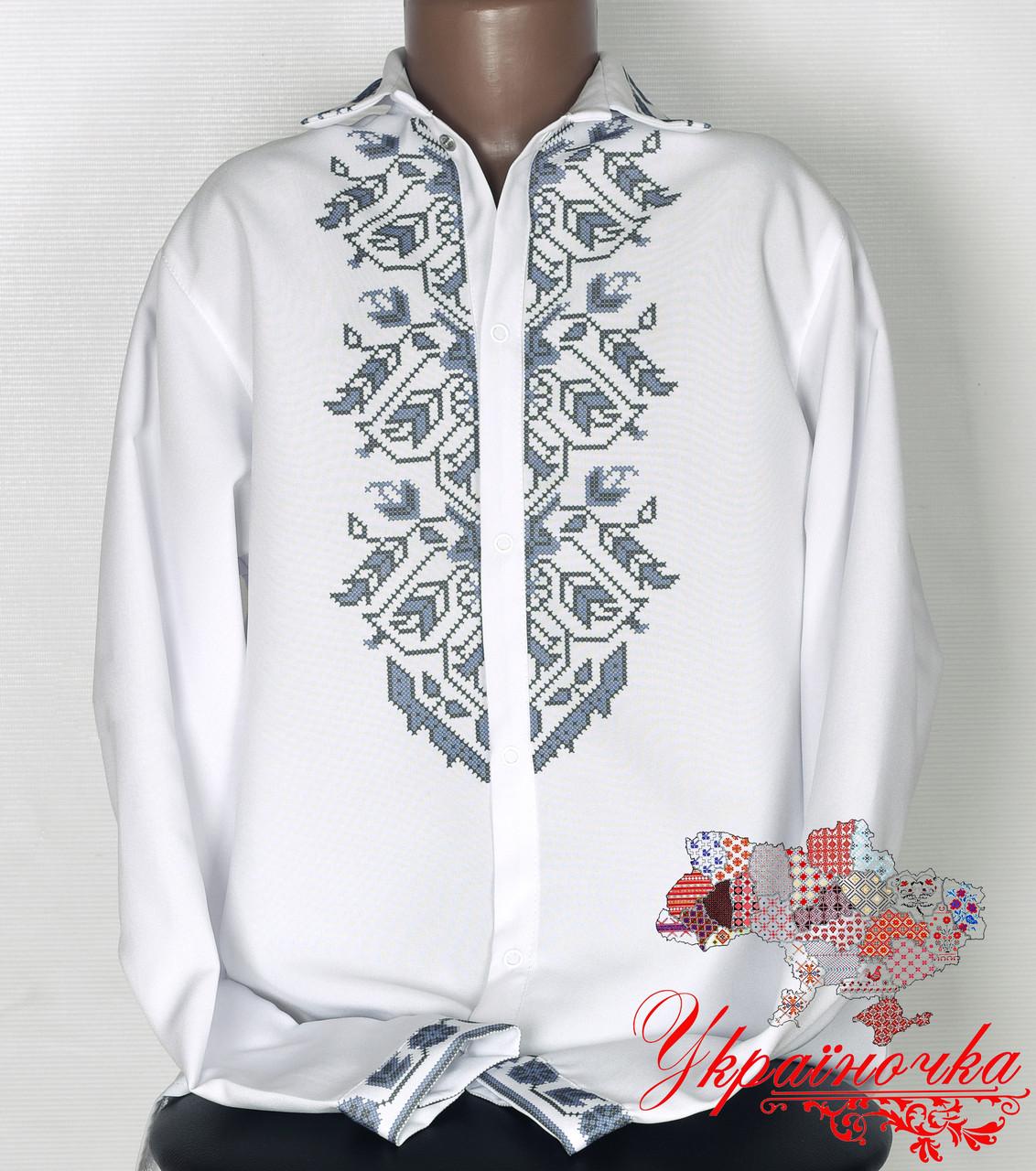 Рубашка для мальчика (Пошита заготовка) №030.2
