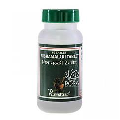 Нишамалаки (Nishamalaki Tablet, Punarvasu) поліпшення імунітету і при діабеті, 60 таблеток