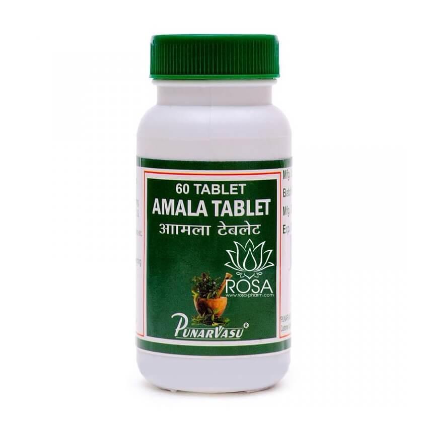 Амалаки Таблетки (Amala Tablet, Punarvasu) омоложение и повышение иммунитета