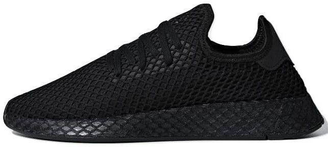 06736f33 Мужские кроссовки Adidas Deerupt Runner Triple Black - Магазин обуви с  хорошими ценами в Киеве
