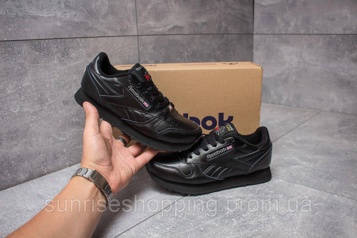 Кроссовки женские в стиле Reebok Classic, черные (14442),   36 37 38 ... cad3692500b