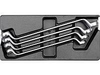 Вставка в инструментальный шкаф: накидные гаечные ключи, 4ед.