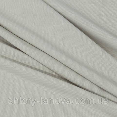 Професійна водовідштовхувальна тканину для скатертин та серветок horeca, однотонна сіро-молочна