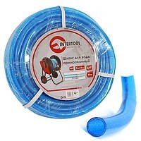 """Шланг для питьевой воды 3-х слойный 3/4"""", 50м, армированный PVC Intertool GE-4076"""