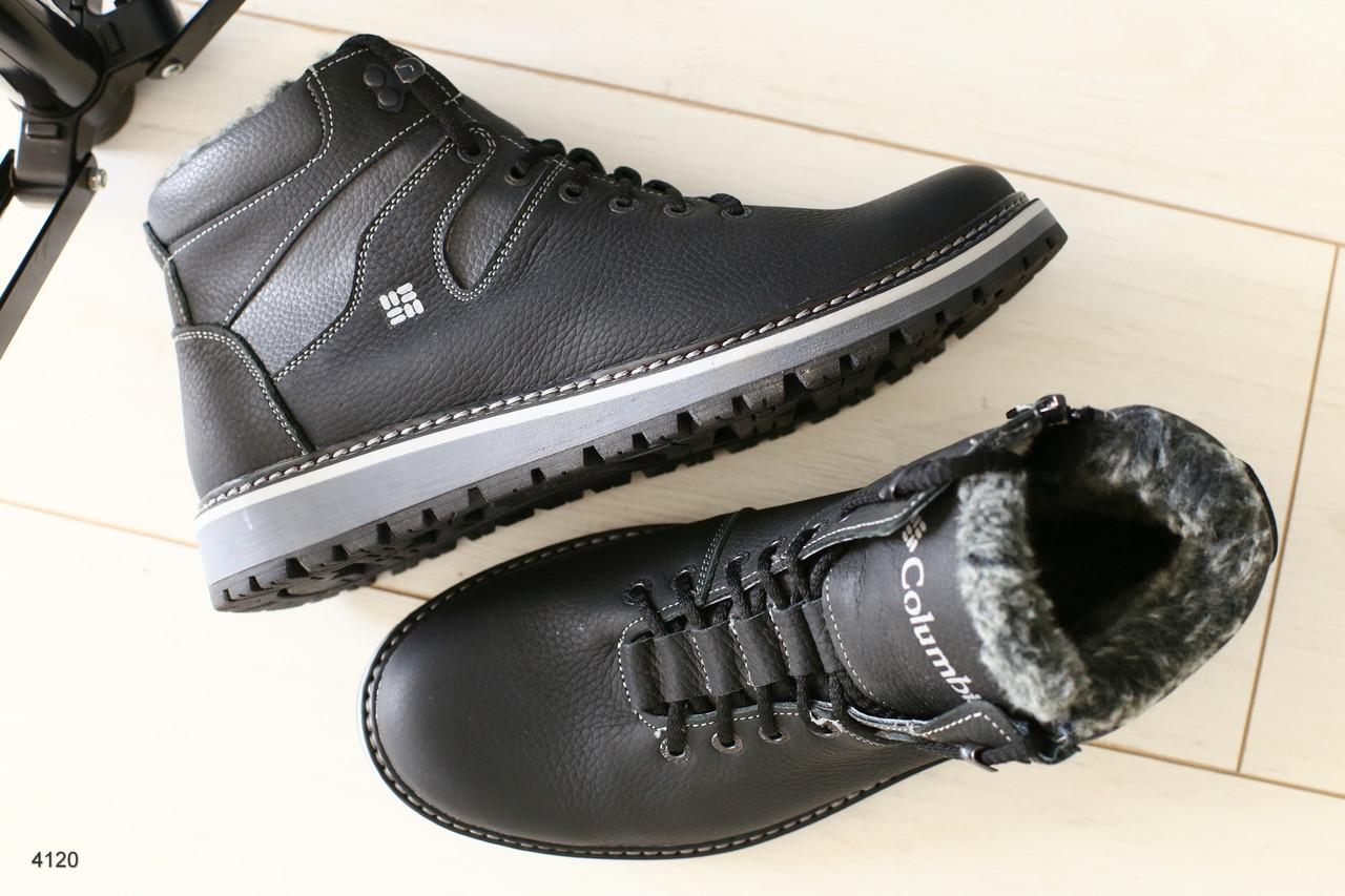 3282929f4 Зимние кожаные мужские ботинки на шнурках: продажа, цена в Чернигове ...