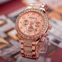 Часы женские Geneva ( rose gold )