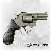 """Револьвер STALKER Titanium 2,5"""", под патрон флобера, черная пластиковая рукоять, фото 1"""