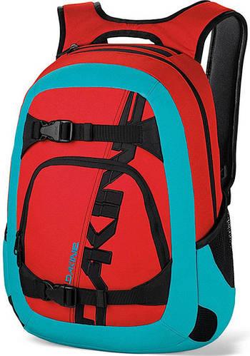Современный Мужской городской рюкзак Dakine Explorer 26L Threedee 610934842838 красный