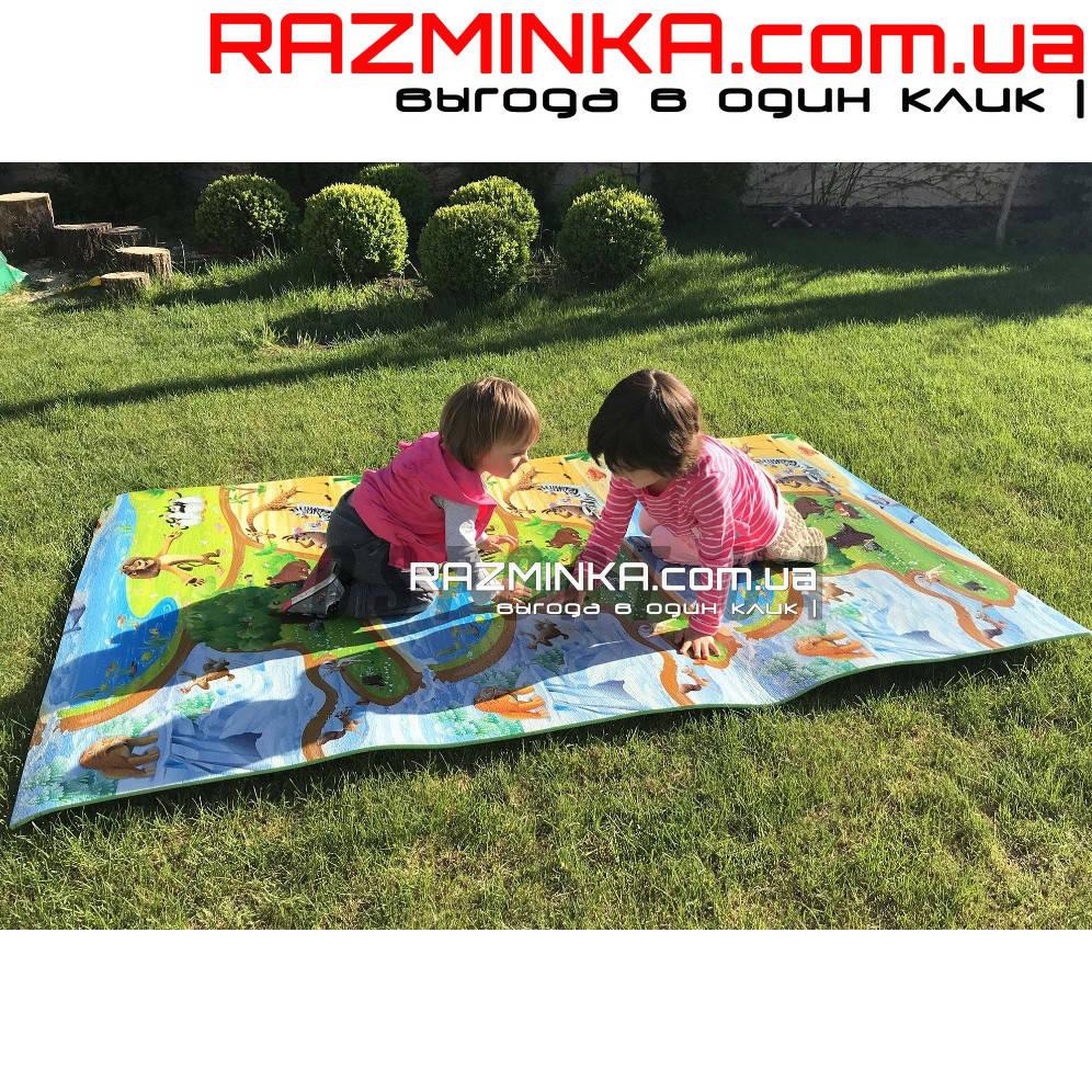 Детский коврик Киндер Пол 150х120см, толщина 8мм