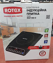 Индукционная настольная электроплита ROTEX RIO190-C (2000W) , фото 2
