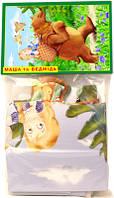"""Пазлы 12 """"Маша и медведь"""" в пакет"""