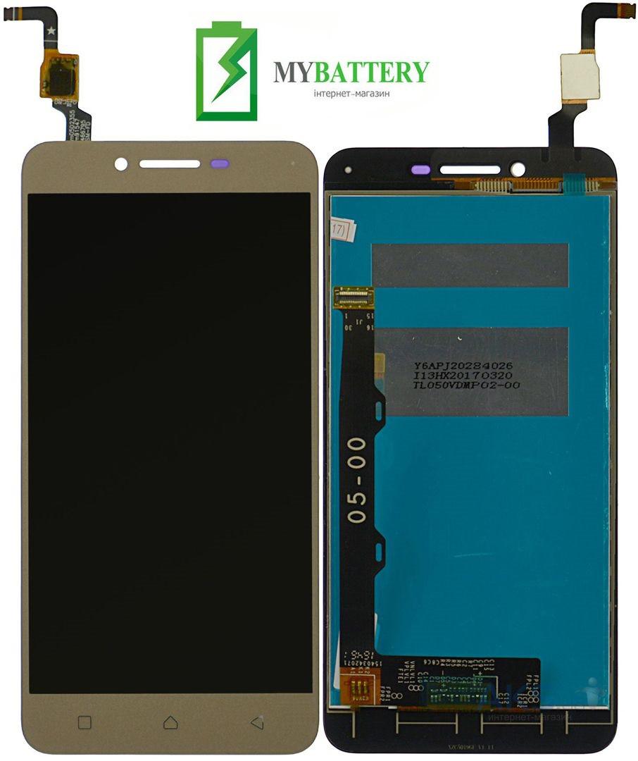 Дисплей (LCD) Lenovo A6020a46 Vibe K5 Plus/Lemon 3 с сенсором золотой