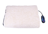Массажный матрас всего тела с тепловой терапией классический с мехом удобный