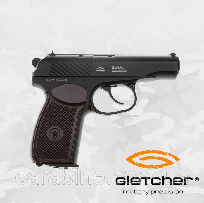 Пневматический пистолет Gletcher PM, фото 1