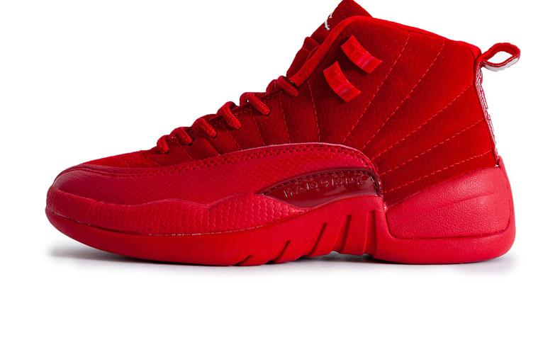 b3a1eec40c6a Баскетбольные кроссовки Nike Air Jordan 12 Retro All Red (Реплика ААА  класса) - FREE
