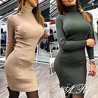 Женское платье гольф лапша  (жіноче плаття ) , фото 1