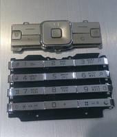 Клавиатура для Sony Ericsson K770i, High Copy, Серебристая /Кнопки/Клавиши /сони эриксон