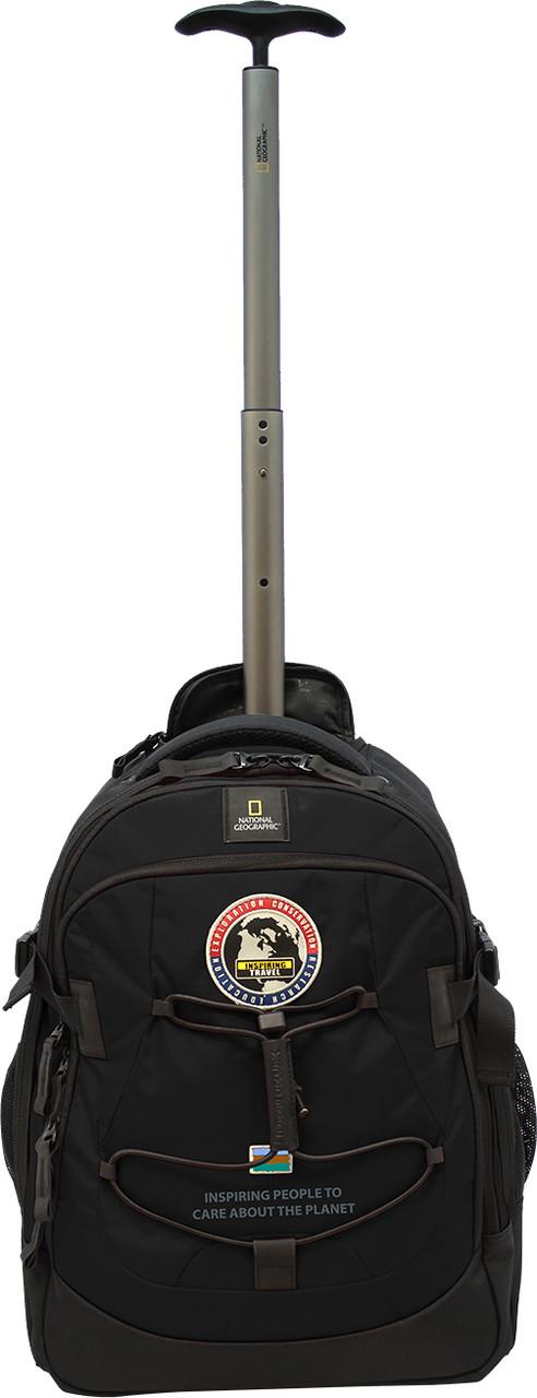 Рюкзак Дорожный на колесах NATIONAL GEOGRAPHIC Explorer N01109