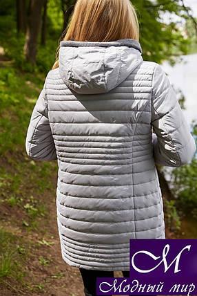 Батальная женская куртка (р. 48-64) арт. Розалия серый, фото 2