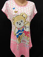 Домашние женские сорочки с рисунком., фото 1