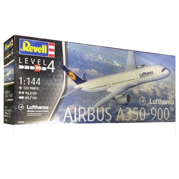Airbus A350-900 Lufthansa. 1/144 REVELL 03938