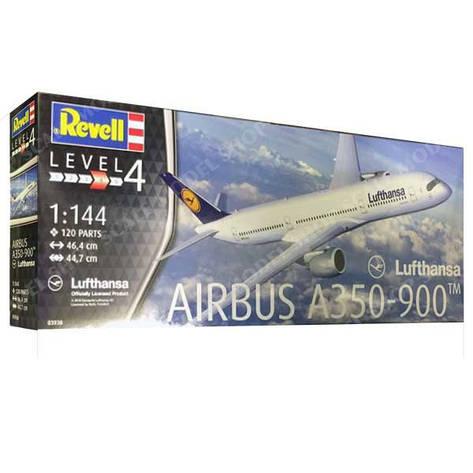 Airbus A350-900 Lufthansa. 1/144 REVELL 03938, фото 2