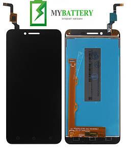 Дисплей (LCD) Lenovo A6020a40 Vibe K5 с сенсором черный