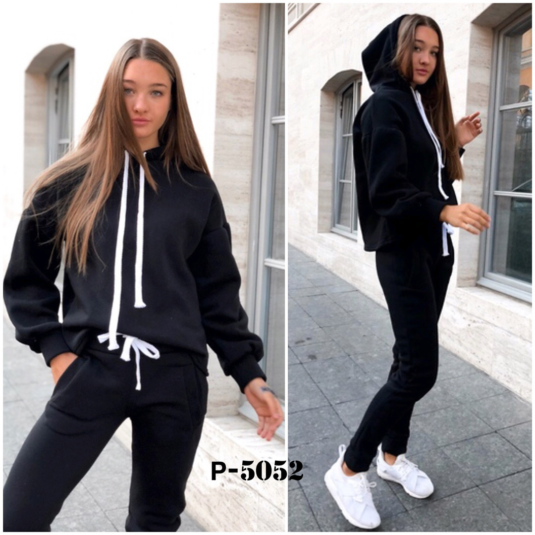 efbb0716 Купить Женский теплый спортивный костюм трехнить на флисе в магазине ...