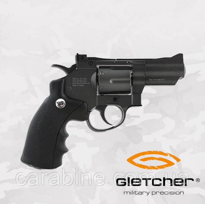 Пневматический револьвер Gletcher SW B25 Smith & Wesson
