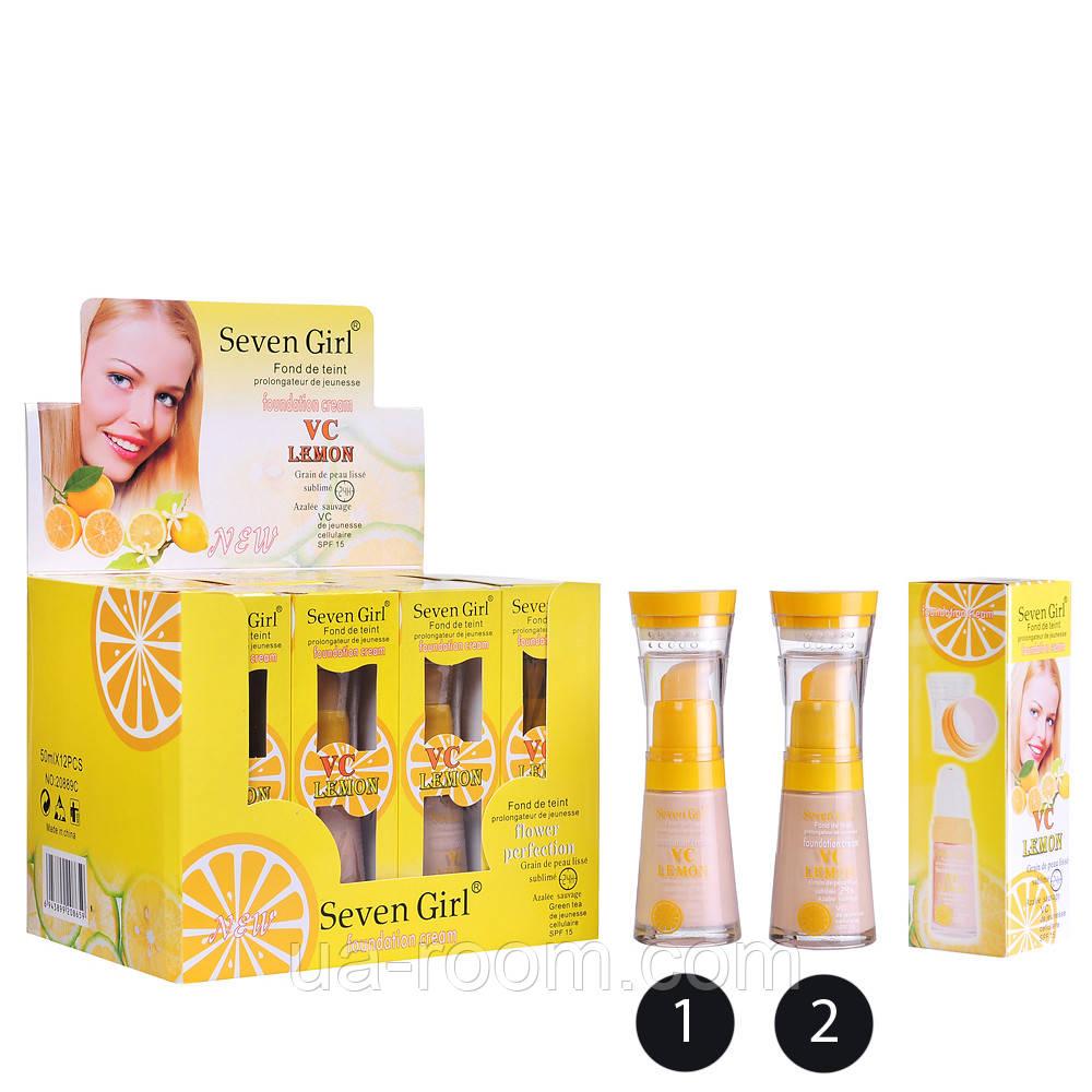 Тональная основа Seven Girl VC Lemon 20889C