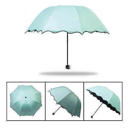 Красивые складные зонты, разные цвета, фото 2
