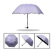 Красивые складные зонты, разные цвета, фото 3