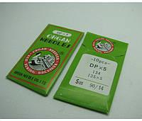 Иглы ORGAN арт.DPx5 № 90/14 для  для прямострочных машин (толстая колба)