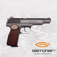 Пневматический пистолет Gletcher APS NBB Пистолет Стечкина АПС, фото 1