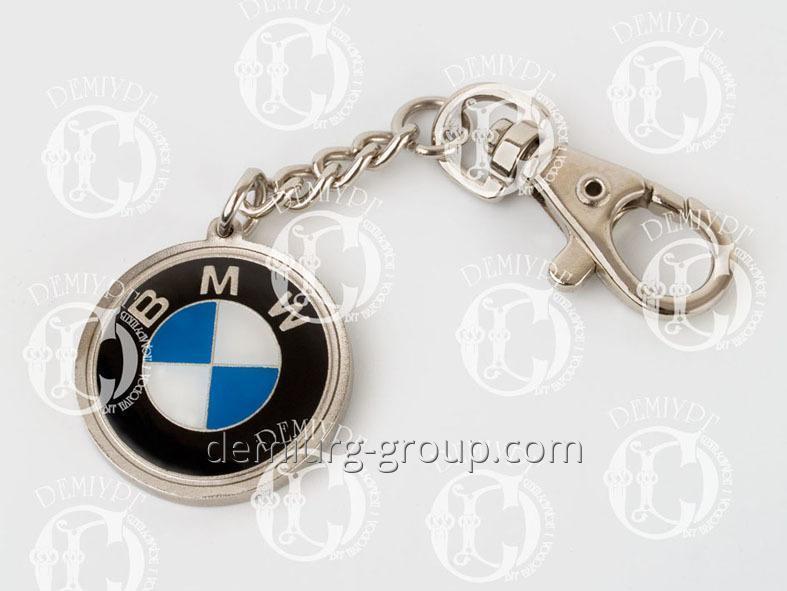 Брелок для ключей BMW из металла с эмалями