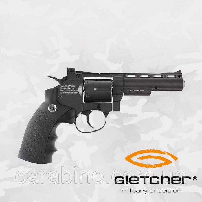 Пневматический револьвер GLETCHER SW B4 SMITH & WESSON