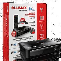 Цифровой телевизионный ресивер LUMAX DV2118HD + WiFi + YouTube + IPTV + MEGOGO
