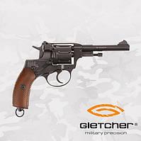 Пневматический револьвер GLETCHER NGT NAGANT НАГАН, фото 1