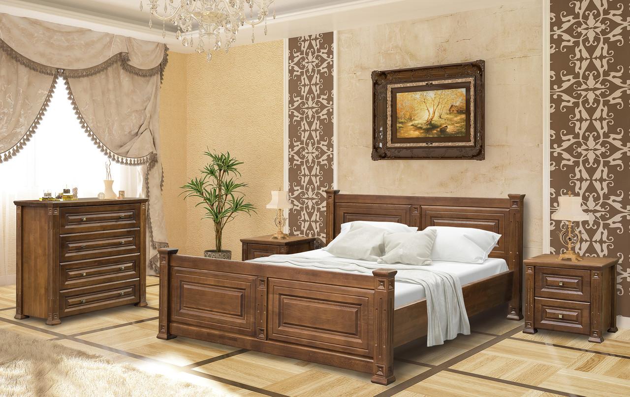 Спальня деревянная Милениум/Міленіум Мебель-сервис