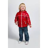 Куртка демисезонная Sport Next красная Модный карапуз 03-00436-0