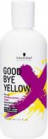 Безсульфатный шампунь с антижелтым эффектом Schwarzkopf Goodbye Yellow Shampoo 300 мл